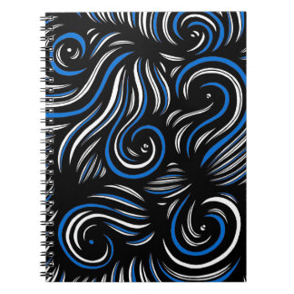 Hard-Working Miraculous Agreeable Gentle Spiral Notebook