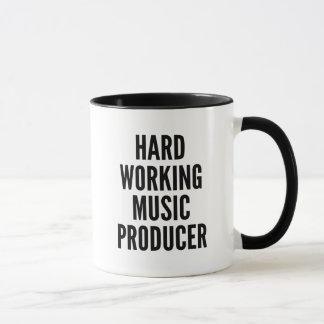 Hard Working Music Producer Mug