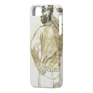 HARD WORKING NEGRO MAN iphone 5 case