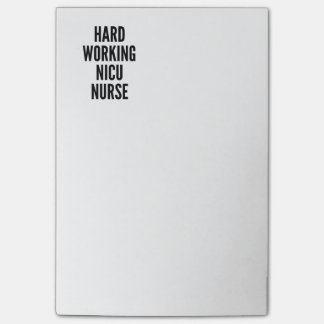 Hard Working NICU Nurse Post-it Notes