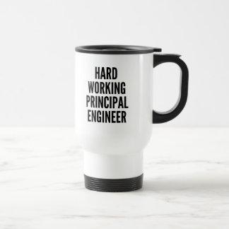 Hard Working Principal Engineer Travel Mug