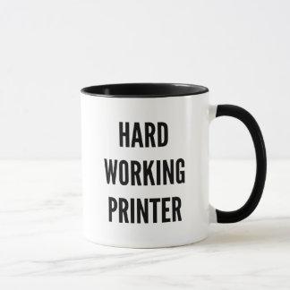 Hard Working Printer Mug