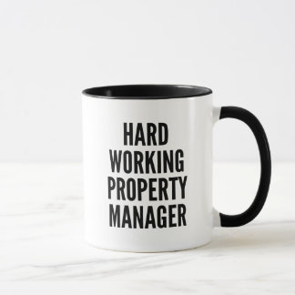 Hard Working Property Manager Mug
