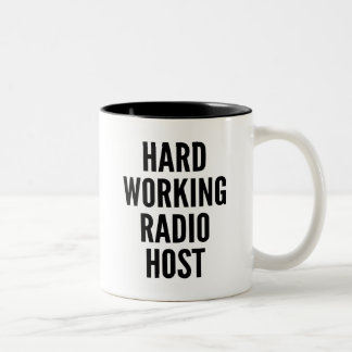 Hard Working Radio Host Mugs