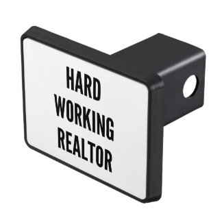 Hard Working Realtor Hitch Covers