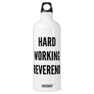 Hard Working Reverend Water Bottle