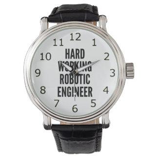 Hard Working Robotic Engineer Watch