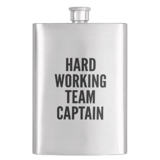 Hard Working Team Captain Flask