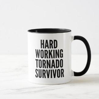 Hard Working Tornado Survivor Mug