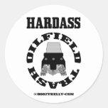 Hardass Oil Field Trash,Oil Field Sticker,Oil