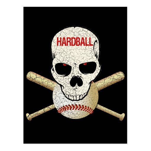 HARDBALL - CRACKED AND AGED POST CARDS