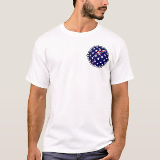 Hardball Roller Hockey Circle Flag T-Shirt