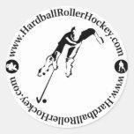 Hardball Roller Hockey Sticker