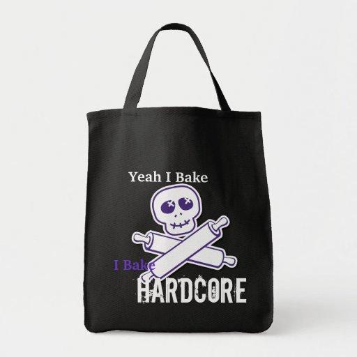 Hardcore Baker Grocery Tote Bag
