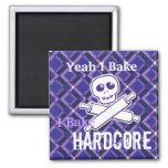 Hardcore Baker Magnet (square only)