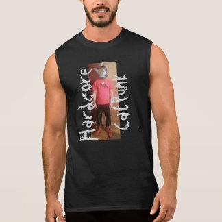 Hardcore CatPunk Rich Sleeveless PunkAss T-Shirt