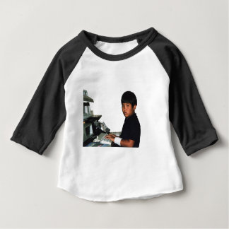 Hardcore Coder with Wristband Baby T-Shirt