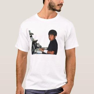 Hardcore Coder with Wristband T-Shirt