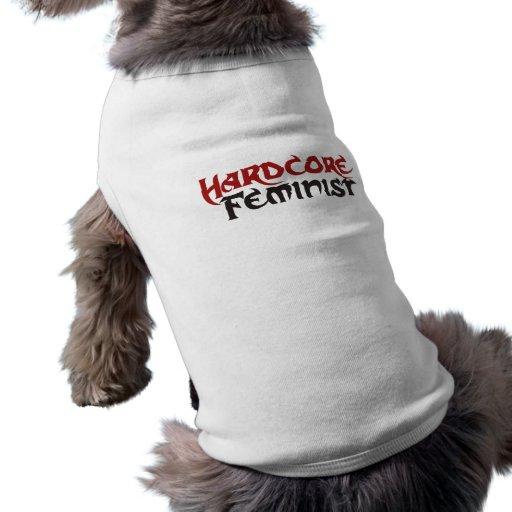 Hardcore Feminist Doggie Tee