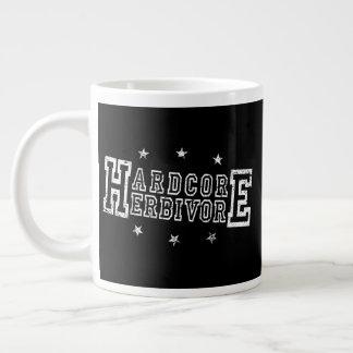 Hardcore Herbivore (wht) Large Coffee Mug