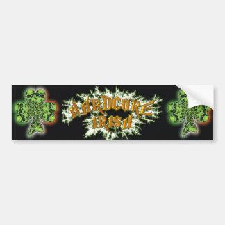 Hardcore Irish Bumper Sticker