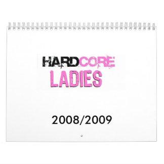 Hardcore Ladies Calendar 08/09
