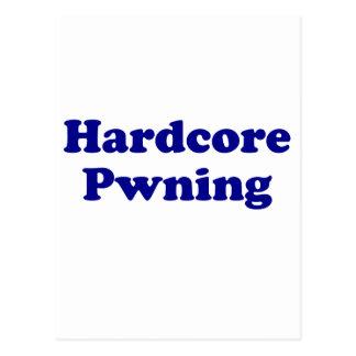 Hardcore pwning postcard