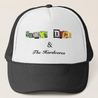 hardcore realness trucker hat