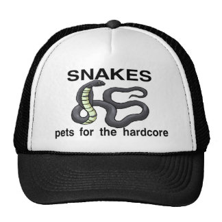 Hardcore Snakes Trucker Hat