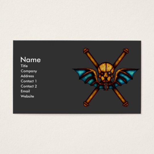 Hardcore Steampunk, business card