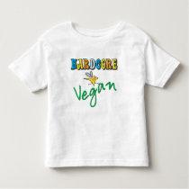 Hardcore Vegan Toddler T-shirt