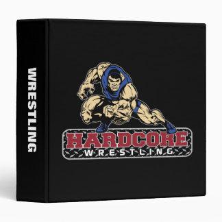 Hardcore Wrestling Vinyl Binder