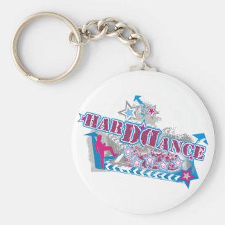 Harddance Keyring Keychain