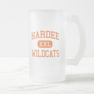 Hardee - gatos monteses - High School secundaria - Taza De Cristal