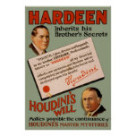 Hardeen hereda los secretos de su hermano impresiones