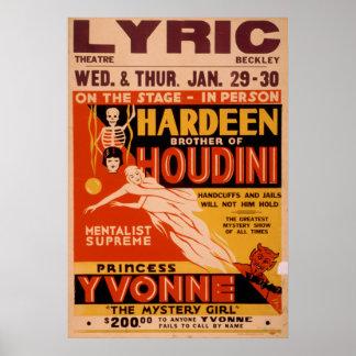 Vaudeville Posters | Zazzle