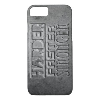 Harder Faster Stronger iPhone 8/7 Case