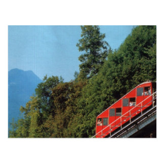 Harder Kulm Funicular Railway, Interlaken 1 Postcard