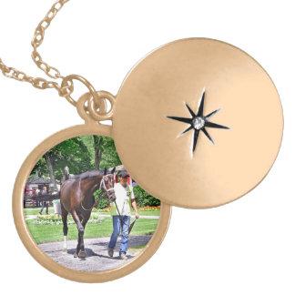 Hardest Core - Saratoga 150 Race 1 Winner Locket Necklace