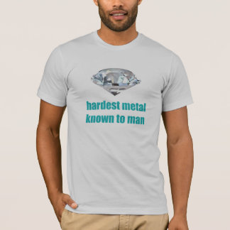 Hardest Metal Known To Man T-Shirt