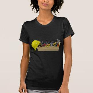 HardHatLongWoodenToolbox091711 Tee Shirt