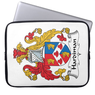 Hardiman Family Crest Computer Sleeves