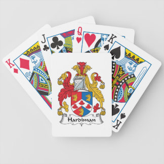 Hardiman Family Crest Deck Of Cards