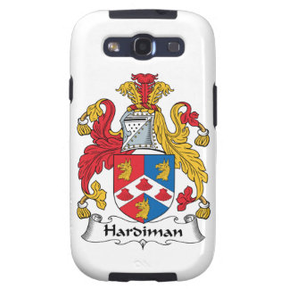 Hardiman Family Crest Galaxy SIII Cases