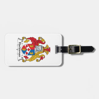 Hardiman Family Crest Luggage Tags