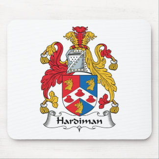 Hardiman Family Crest Mouse Pad