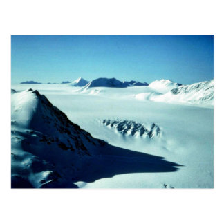 Harding Ice Field Above Skilak Glacier Postcard