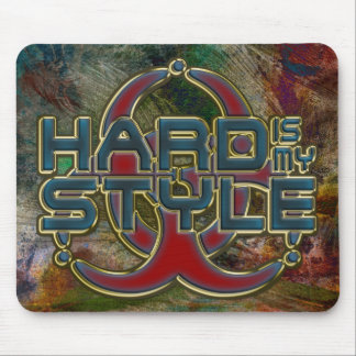HardIs mi estilo - hardstyle del esquema del oro Tapete De Ratón