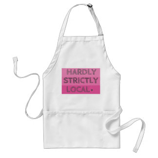 Hardly Strictly Local Adult Apron