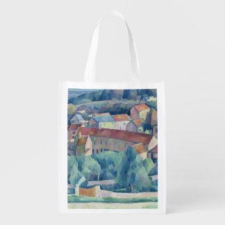 Hardricourt Village and Castle Grocery Bag